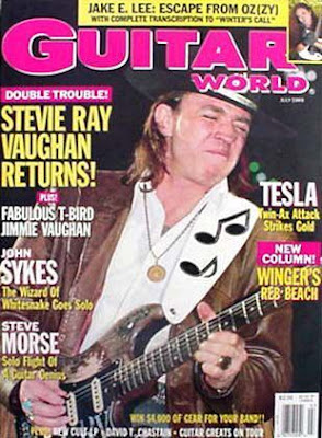 GW Magazine SRV Cover July 1989