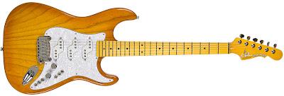 G&L Comanche Ash Honeyburst at Guitar Adoptions