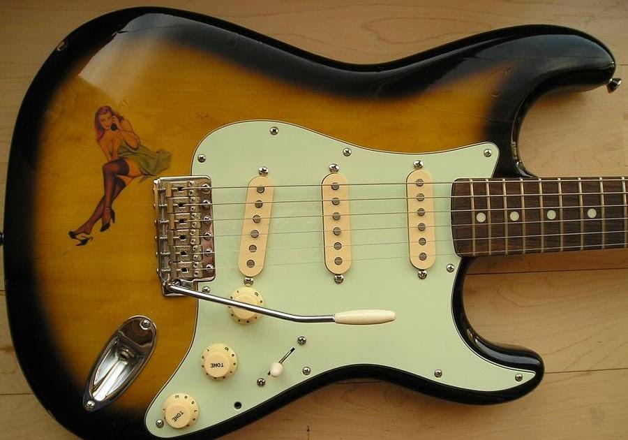 Pin Up Fender Sunburst on Custom Guitar Wiring Diagrams