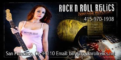 Rock N' Roll Relics Guitars by Billy Rowe