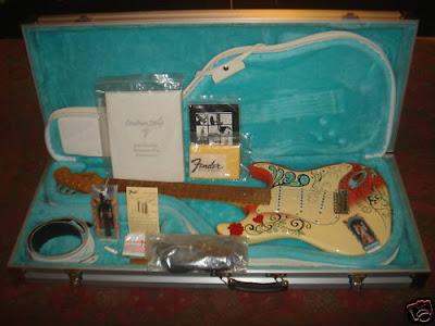 Fender Custom Shop Hendrix Monterey Strat