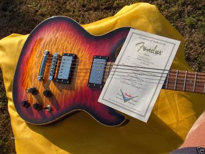Fender Robben Ford Elite Quilt Top