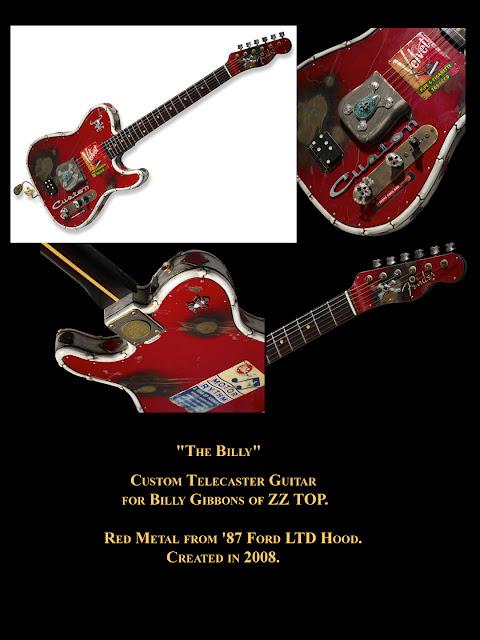 Kit Carson Art Guitar