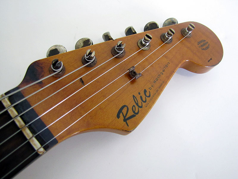 early bill nash relic decal blackie stratocaster guitar culture early bill nash relic decal guitar