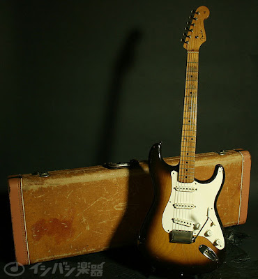 1955 Fender Stratocaster with Case.