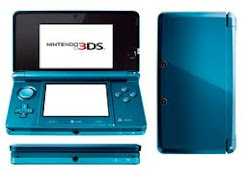 Click Here To Get FREE Aqua Blue Nintendo 3Ds
