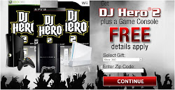 DJ Hero 2 Party Bundle with Game Console GIVE AWAY!Just CLICK
