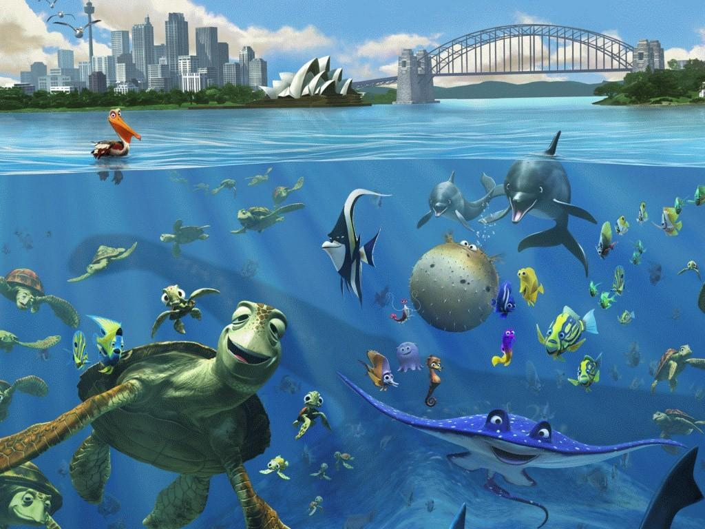 Finding nemo wallpapers picture wallpaper collections - Fotomurales pixel ...