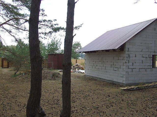 Задняя часть дома