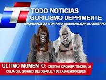 """""""En la jungla de cemento, los gorilas son de palo"""""""