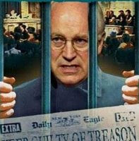 bush and cheney in jail