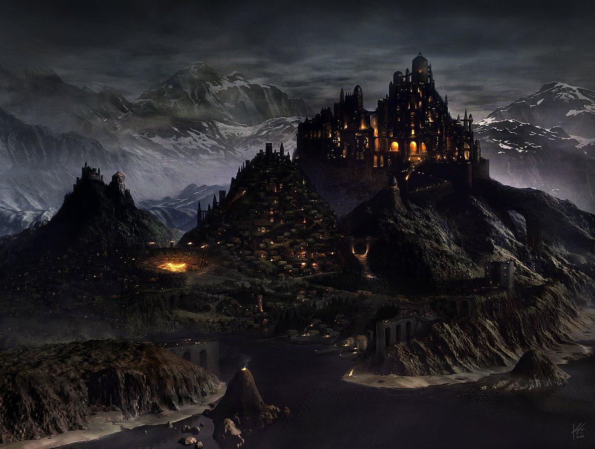 Mazmorra Gris: La legenda de Dragora [ROL] - Página 3 Medieval_city_by_Geistig