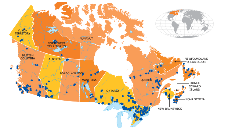 Plant Canada 2011 Canada's Hydro Power Plants
