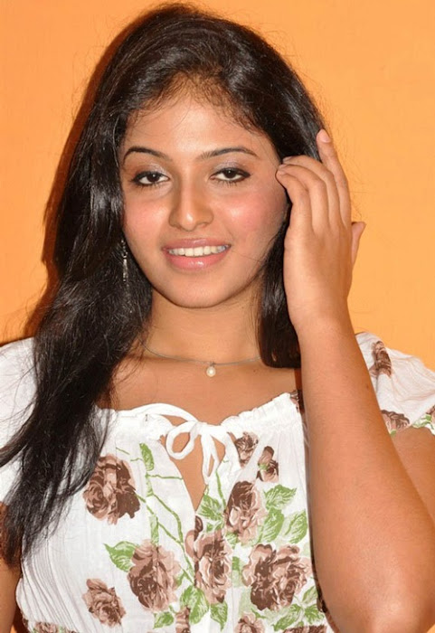 anjali anjali new white dress hot images