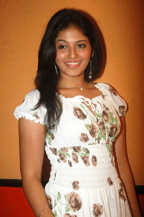 anjali anjali new white dress hot photoshoot