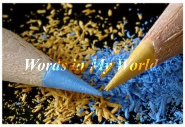 Words in My World 散文字迹