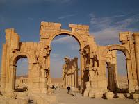 叙利亚巴米拉的废墟