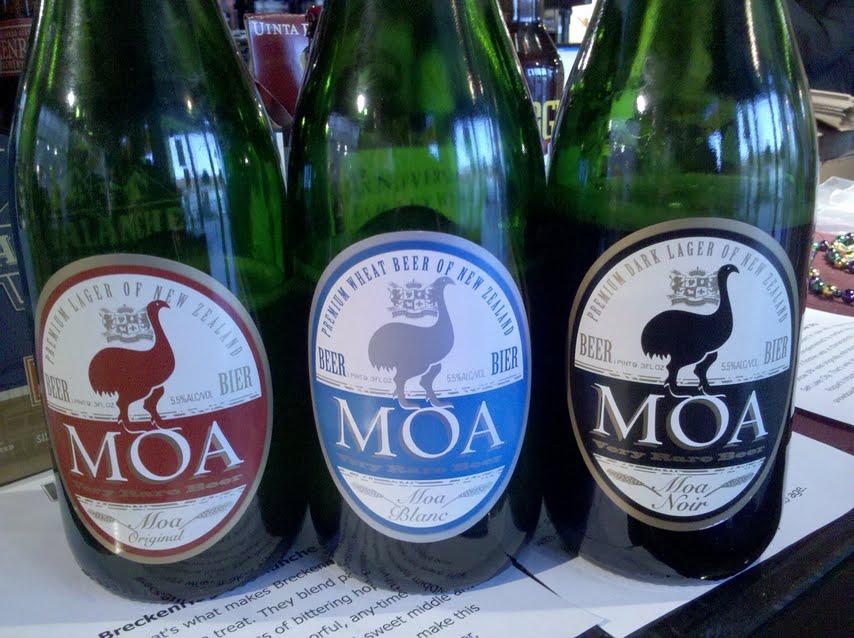 Food Heroes Moa Beer