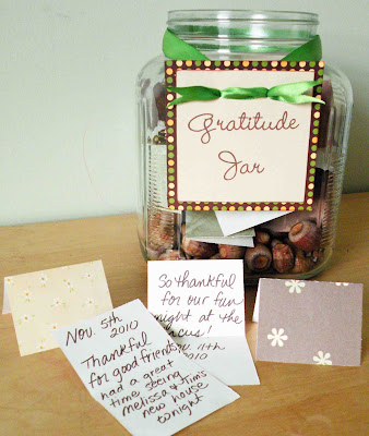 Gratitude jar helps families focus on gratitude regularly