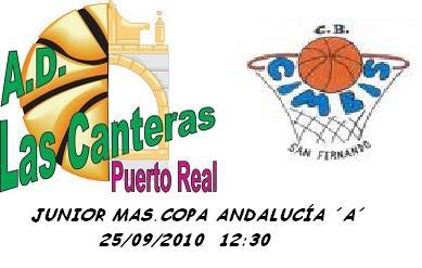 A d las canteras el equipo junior comienza la temporada contra c b cimbis - Las canteras puerto real ...