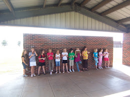 Lining up for the Girl Scout Law