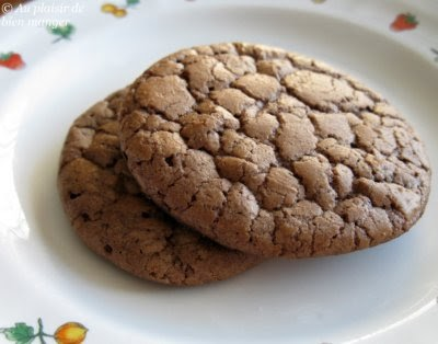 au plaisir de bien manger biscuits moelleux au chocolat. Black Bedroom Furniture Sets. Home Design Ideas