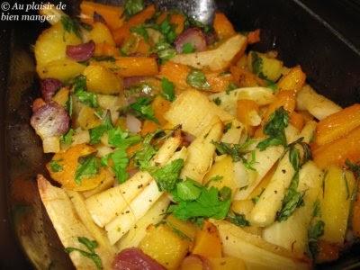 Au plaisir de bien manger l gumes grill s au four - Recette legumes grilles au four ...