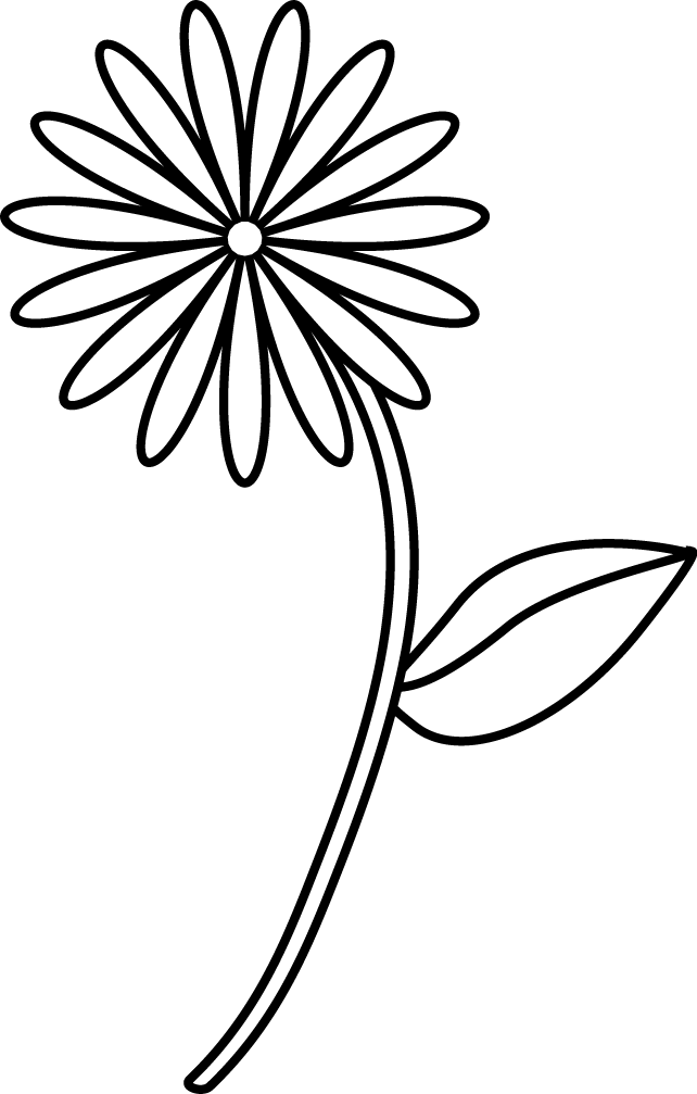 Simple Line Drawing Of Flower : Katemade designs free images