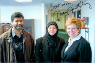 Congresswoman Mary Jo Kilroy, Zafar & I in February 2009
