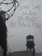 "Soirée ""Corbleu"" au bar le 138 le jeudi 27 août 2009"