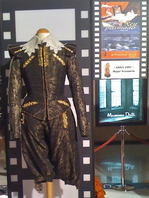 Exposición trajes de cine