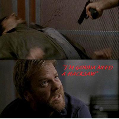 need a hacksaw