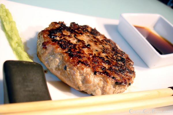 Hamburguesa Japonesa receta paso a paso