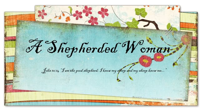 A Shepherded Woman