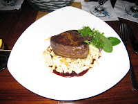 Filet Mignon with Macaroni and Cheese