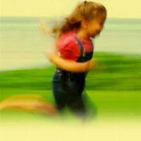 Girl Running Free