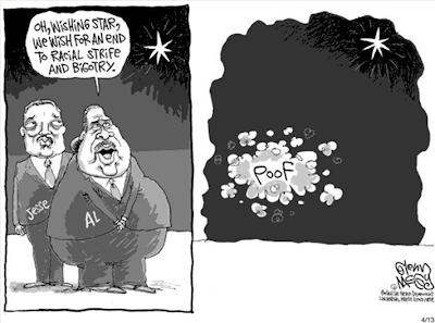 sharpton racist cartoons