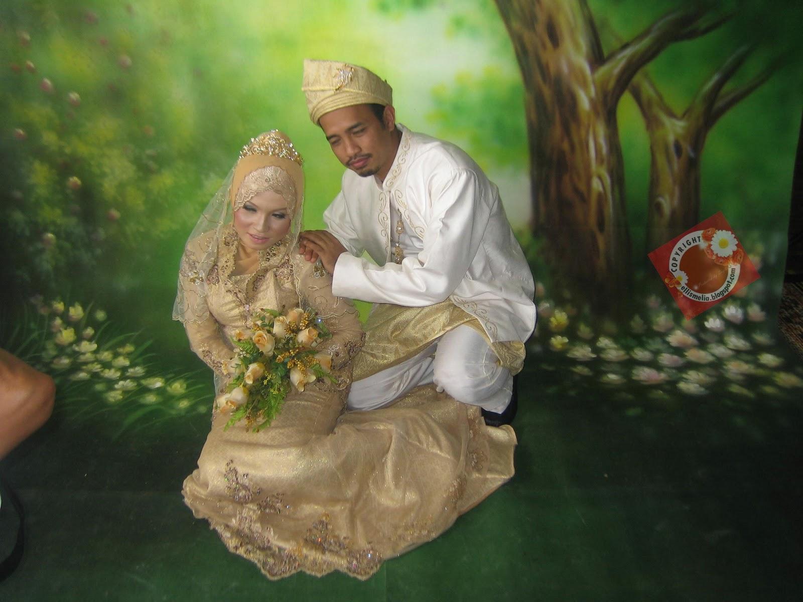 haa..nie lah pengantinnya...