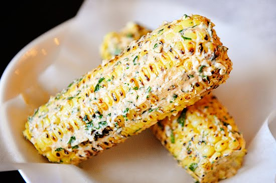 "Dishy Goodness: Mexican ""Grilled"" Corn - A Great Summer Side Dish"