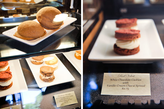 PappaRich offers cookie sandwiches in addition to the ethereal buns