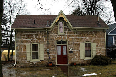 A daily victorian gothic revival cottage galt ontario for Gothic revival farmhouse