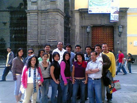 EN LA BUAP 2008