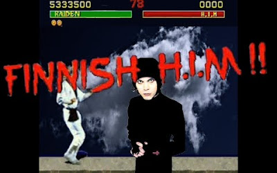 Mortal Kombat Retro finish him fatality