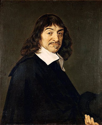 Frans Hals portret of Rene Descartes
