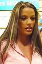 Katie Price Jordan twitter set rack image picture
