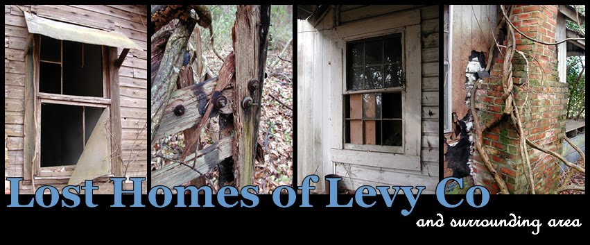 Lost Homes of Levy Co