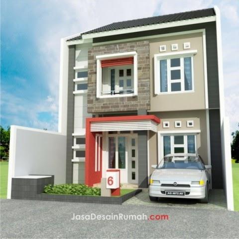 cv. keruwing indah: rumah modern 2 lantai