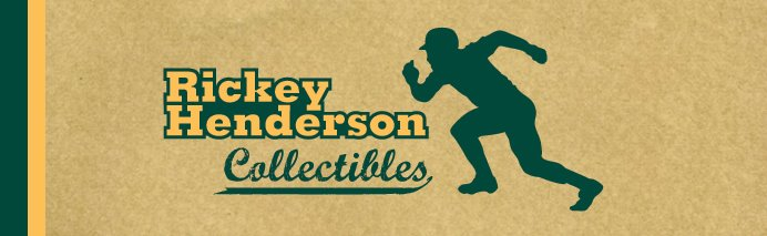 Rickey Henderson Collectibles