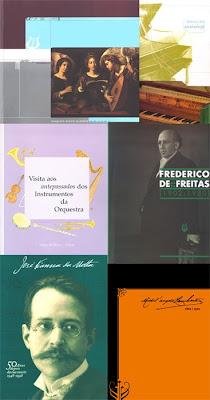 Conjunto de publicações do Museu da Música