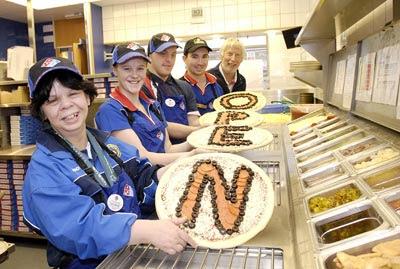 Special Olympics Pizza
